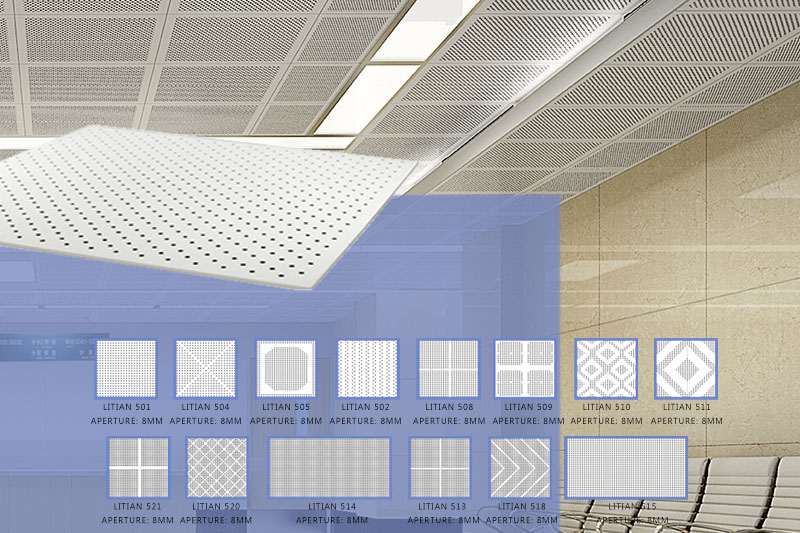Litian perforated sound absorbing board